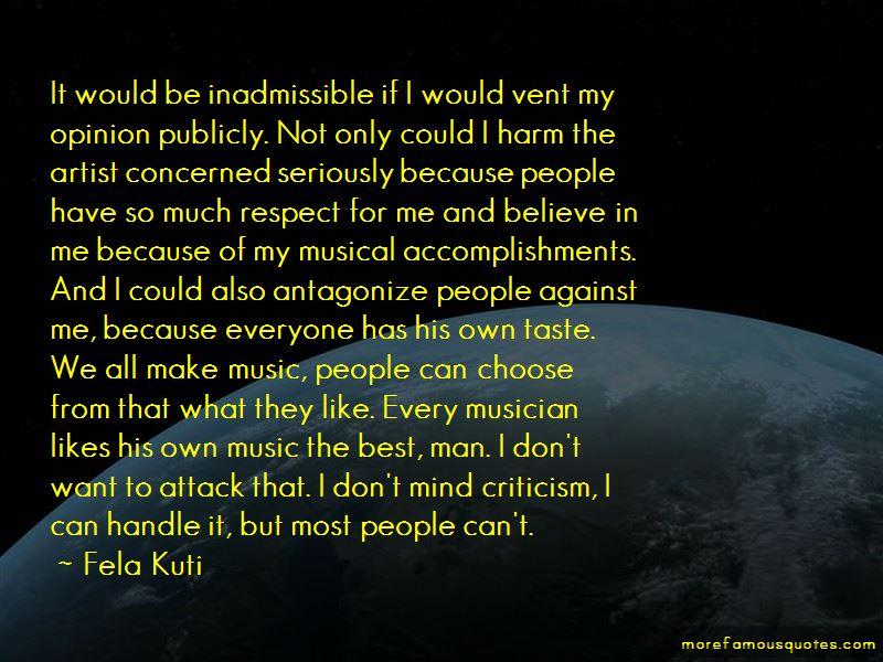 Fela Kuti Quotes