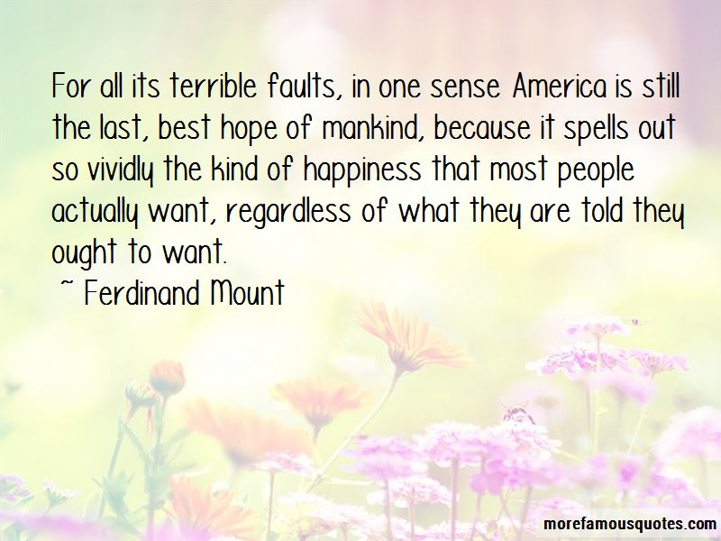 Ferdinand Mount Quotes Pictures 4