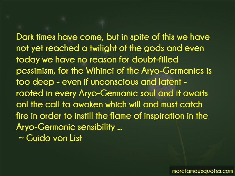 Guido Von List Quotes Pictures 4