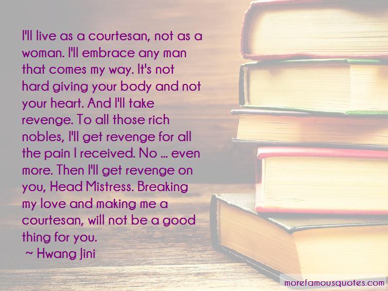 Hwang Jini Quotes