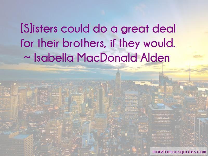 Isabella MacDonald Alden Quotes Pictures 2