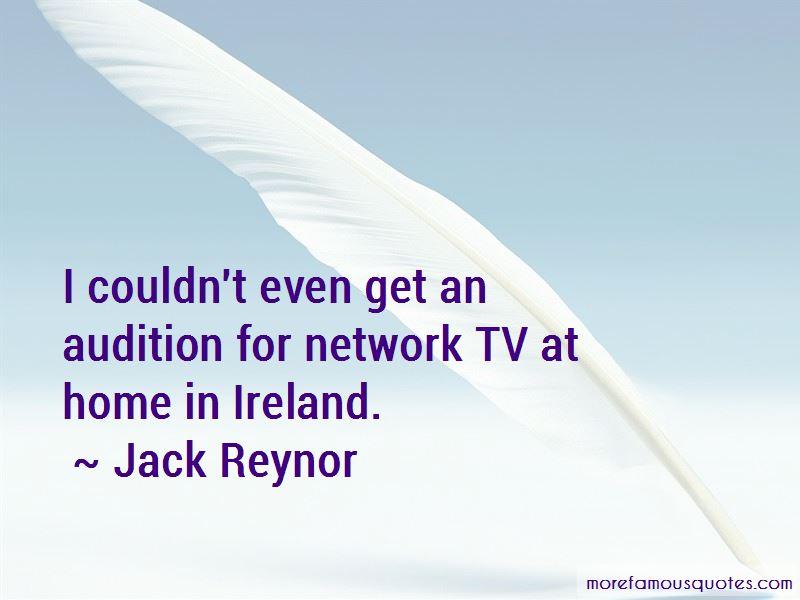 Jack Reynor Quotes