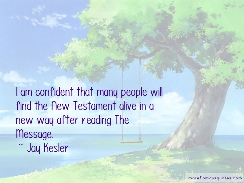 Jay Kesler Quotes Pictures 4