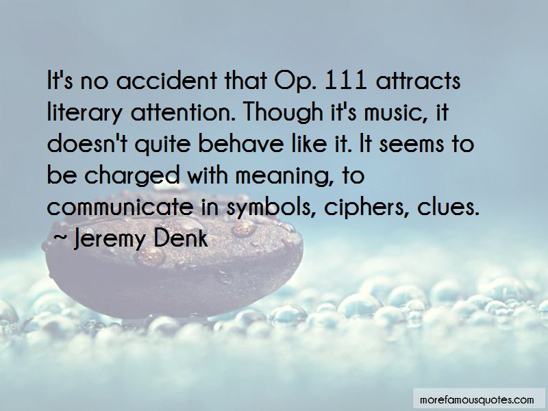 Jeremy Denk Quotes Pictures 2