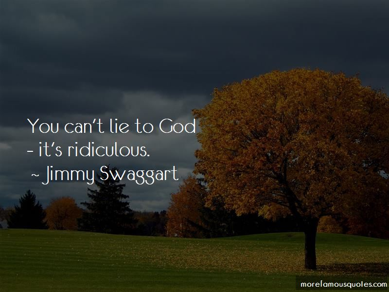 Jimmy Swaggart Quotes