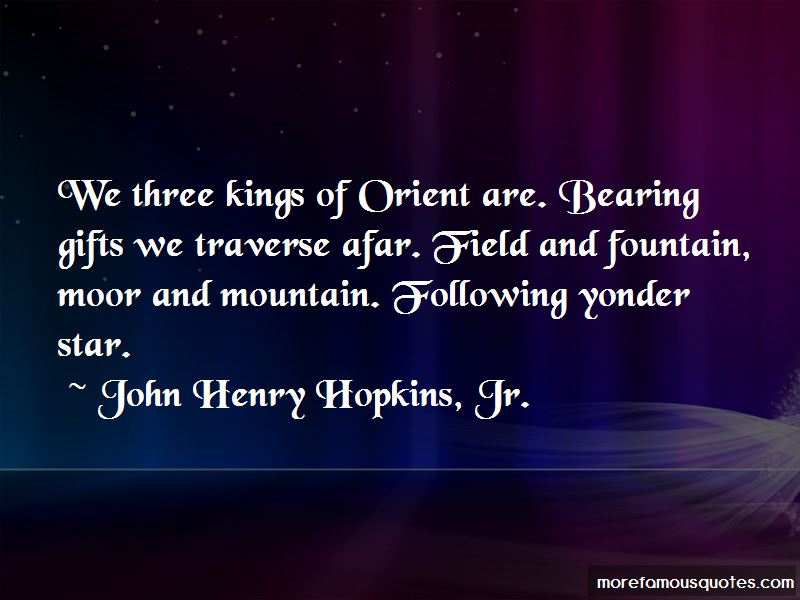 John Henry Hopkins, Jr. Quotes