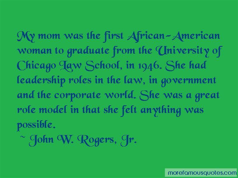 John W. Rogers, Jr. Quotes