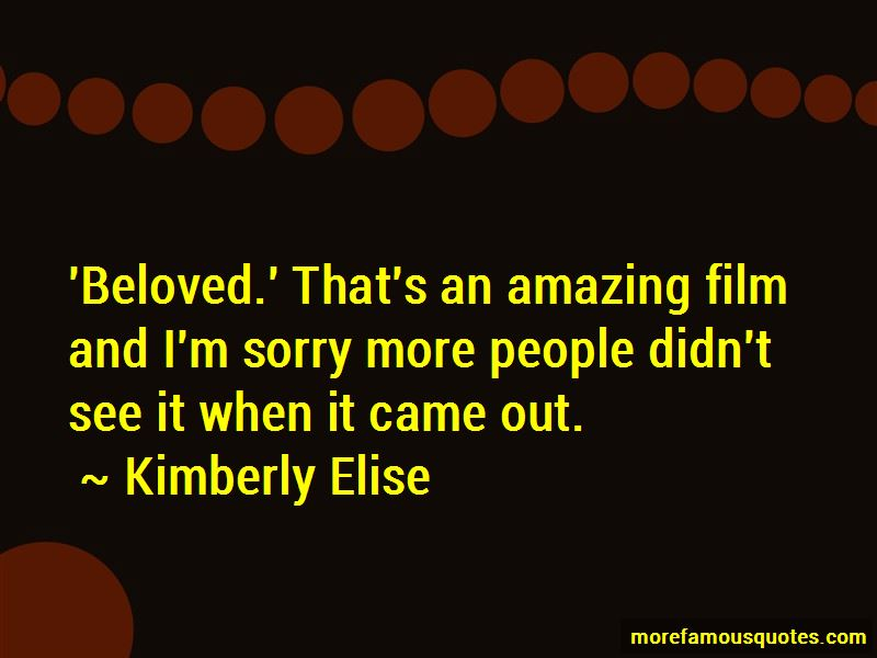 Kimberly Elise Quotes Pictures 4