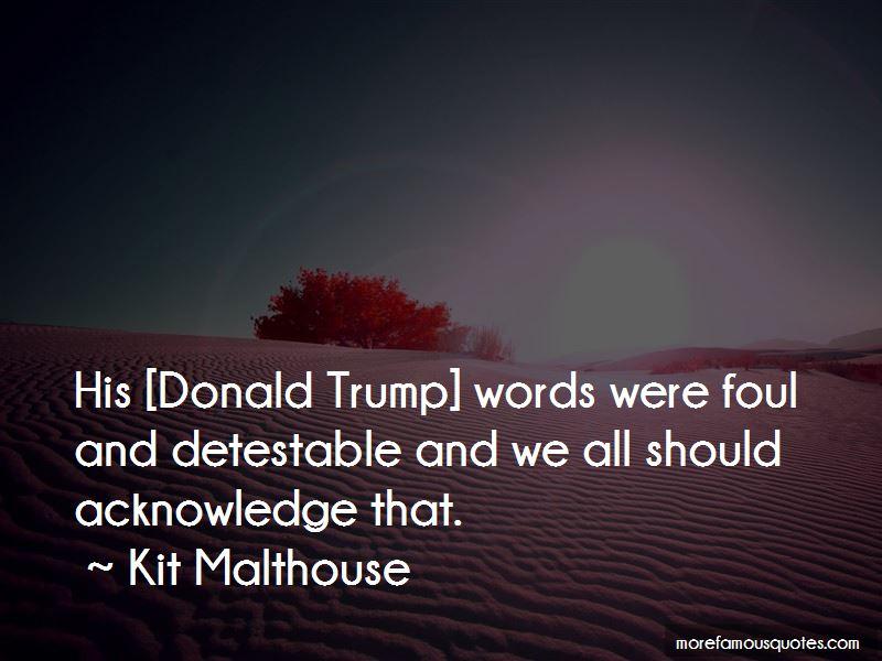 Kit Malthouse Quotes