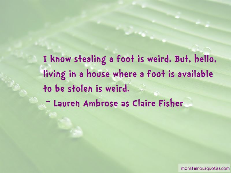 Lauren Ambrose As Claire Fisher Quotes