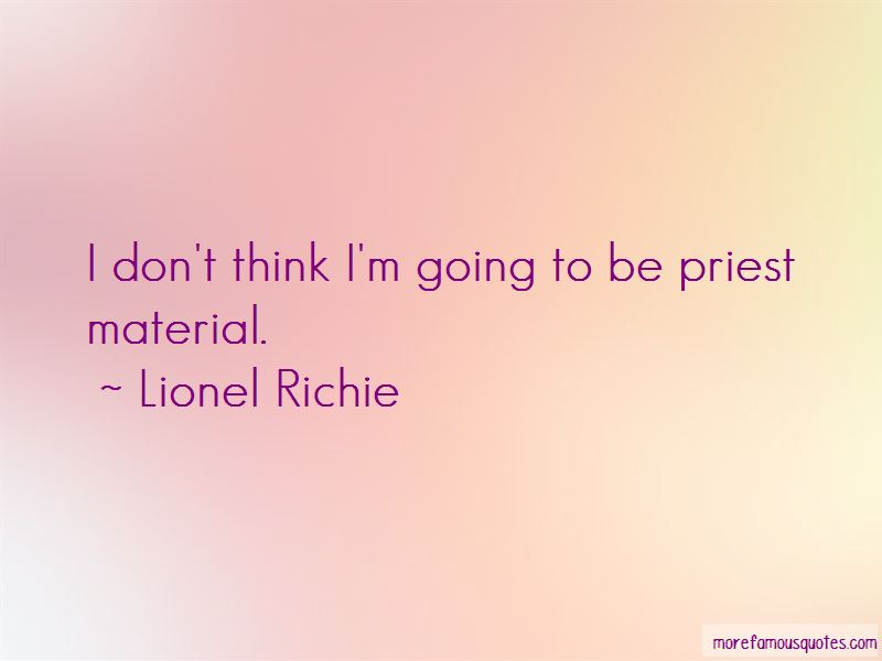 Lionel Richie Quotes