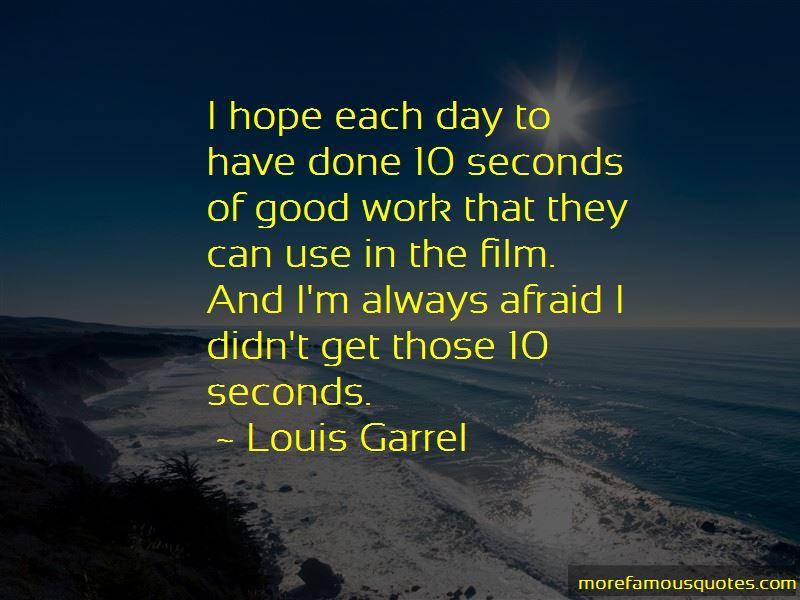 Louis Garrel Quotes