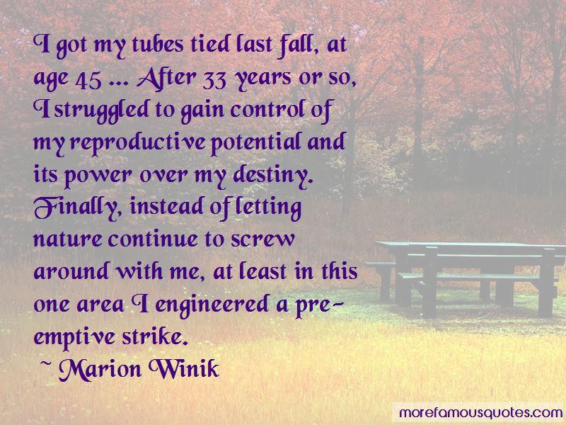 Marion Winik Quotes