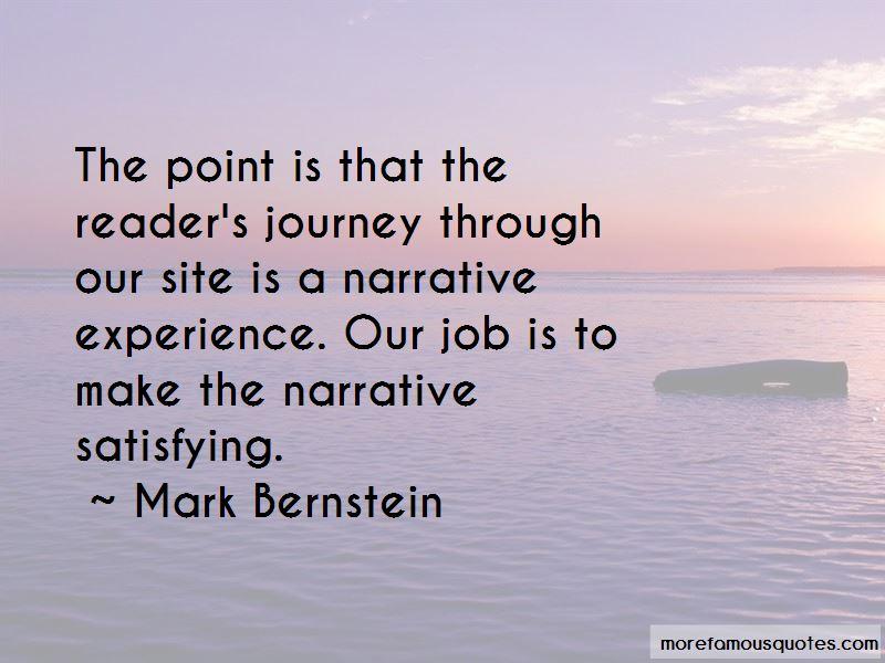 Mark Bernstein Quotes Pictures 2
