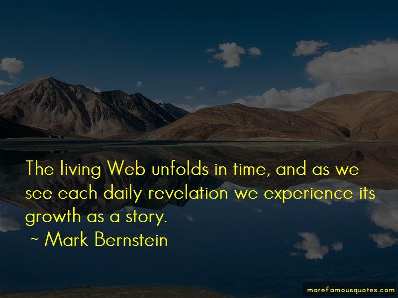 Mark Bernstein Quotes Pictures 4