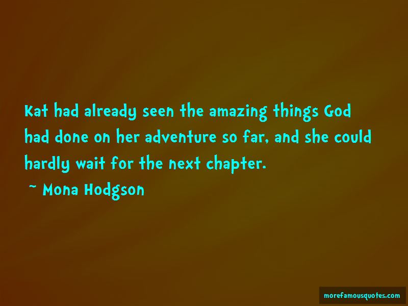 Mona Hodgson Quotes Pictures 2
