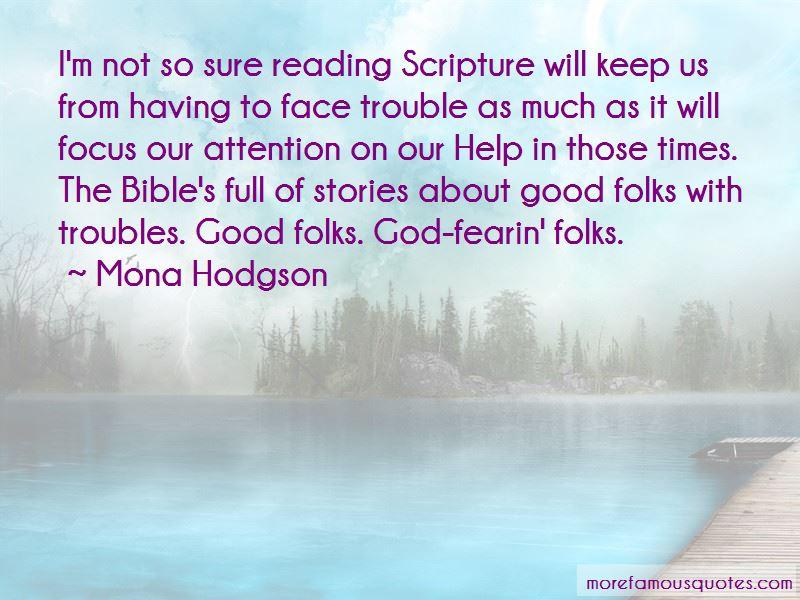 Mona Hodgson Quotes Pictures 3