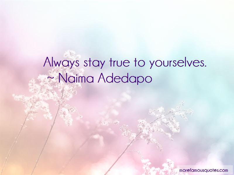 Naima Adedapo Quotes Pictures 2