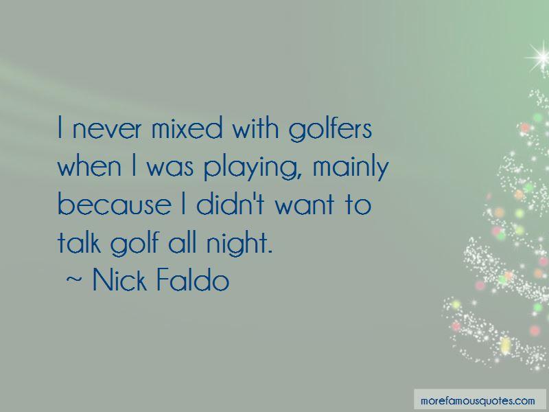 Nick Faldo Quotes Pictures 2