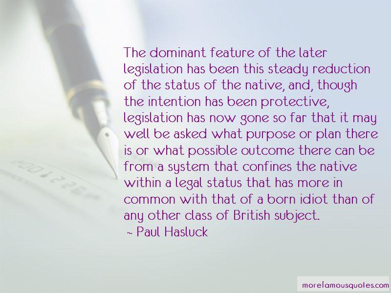 Paul Hasluck Quotes