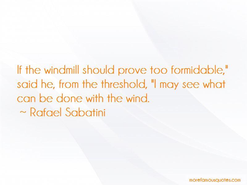 Rafael Sabatini Quotes