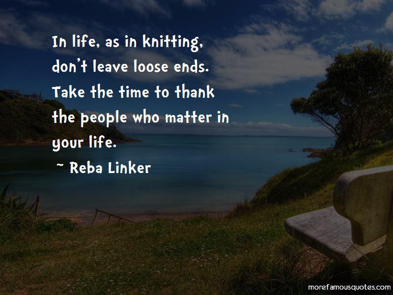 Reba Linker Quotes