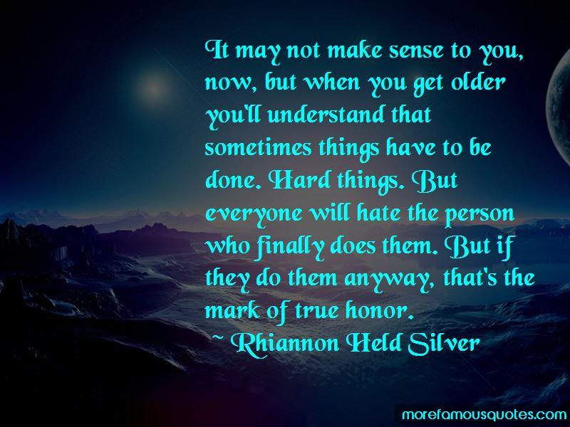 Rhiannon Held Silver Quotes