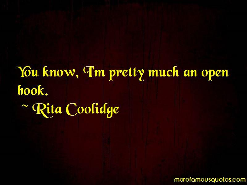 Rita Coolidge Quotes