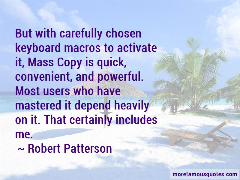 Robert Patterson Quotes Pictures 2