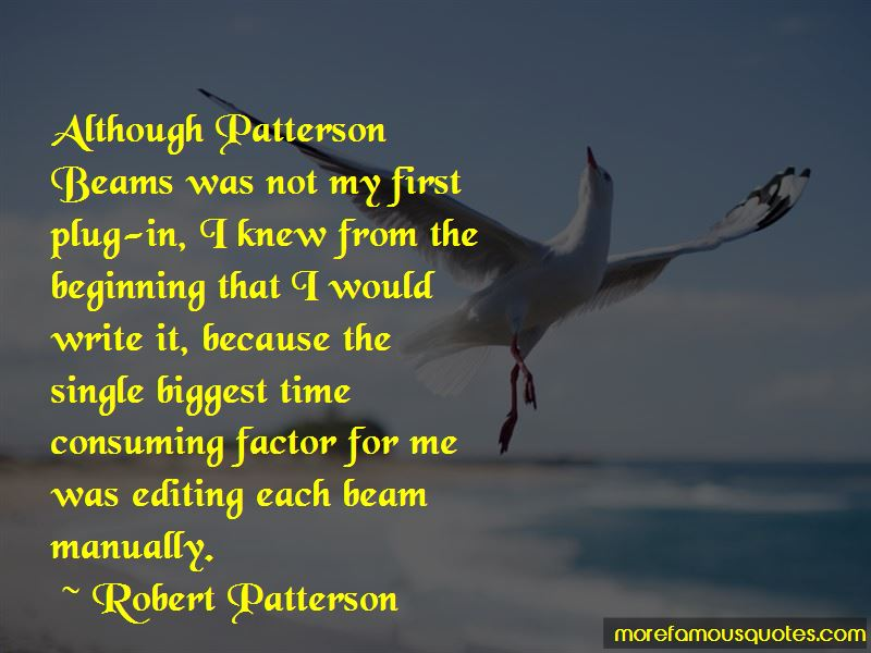 Robert Patterson Quotes