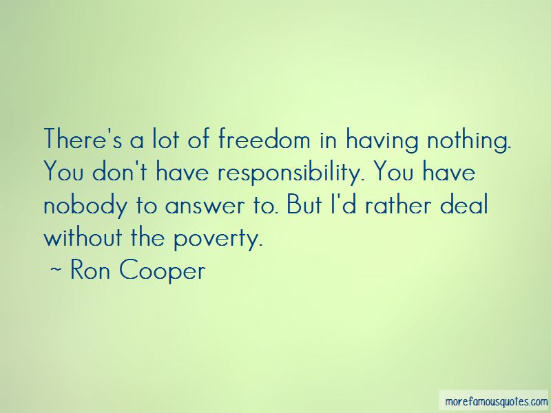 Ron Cooper Quotes Pictures 2