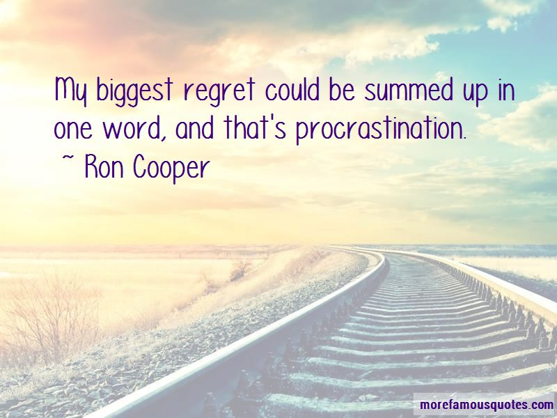 Ron Cooper Quotes