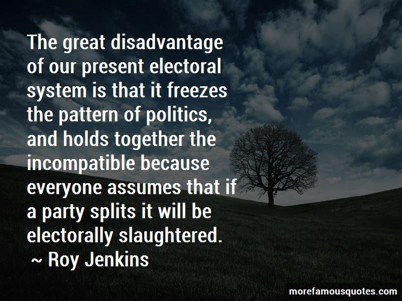 Roy Jenkins Quotes