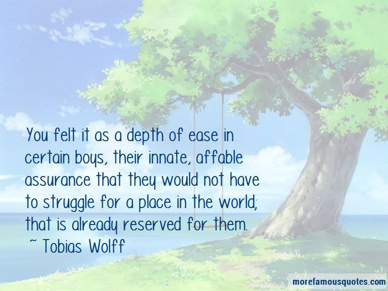Tobias Wolff Quotes