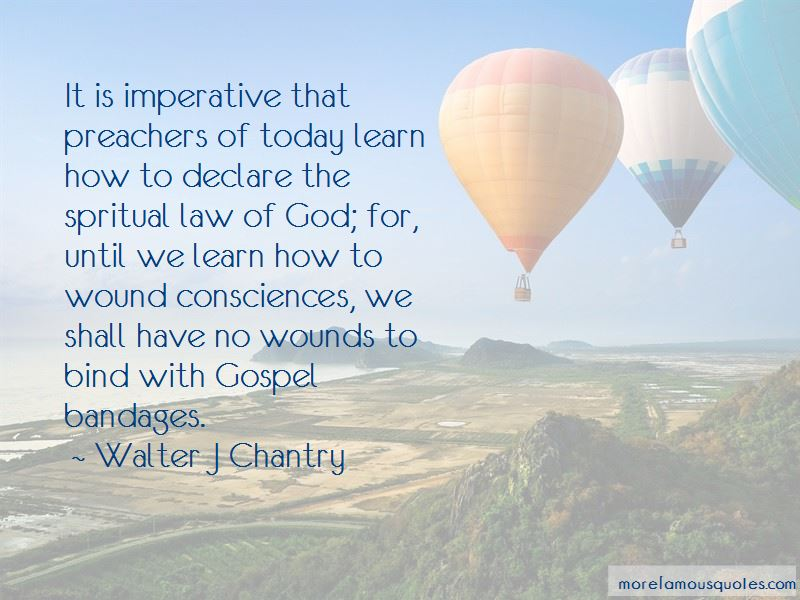 Walter J Chantry Quotes