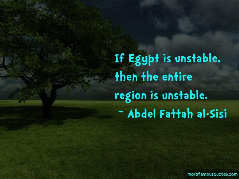 Abdel Fattah Al-Sisi Quotes Pictures 2