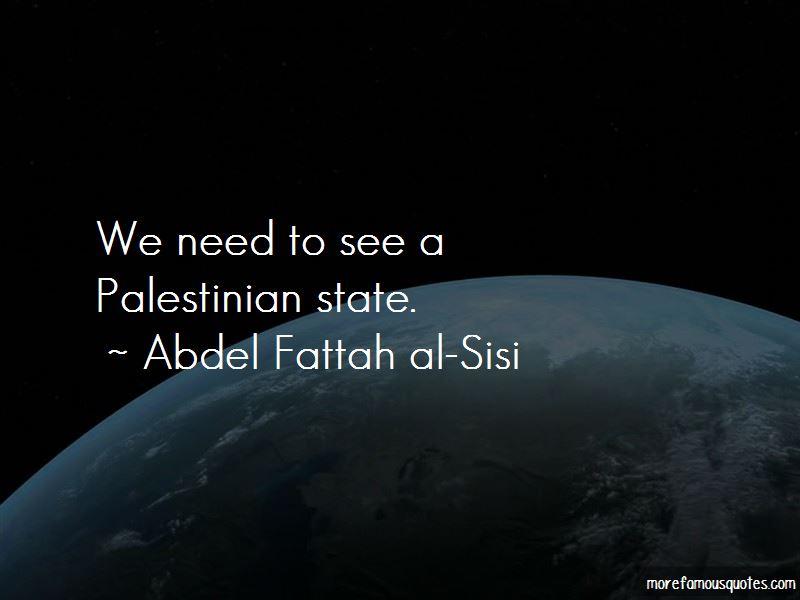 Abdel Fattah Al-Sisi Quotes Pictures 3