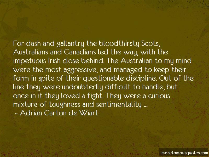 Adrian Carton De Wiart Quotes Pictures 2