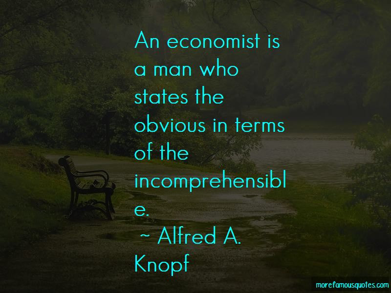 Alfred A. Knopf Quotes