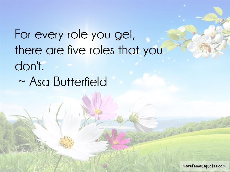 Asa Butterfield Quotes Pictures 3