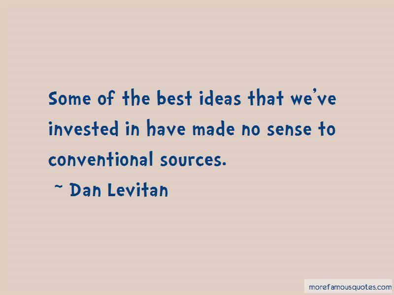 Dan Levitan Quotes Pictures 4