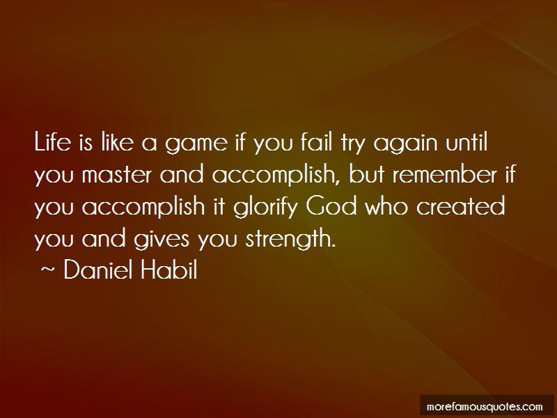 Daniel Habil Quotes Pictures 2