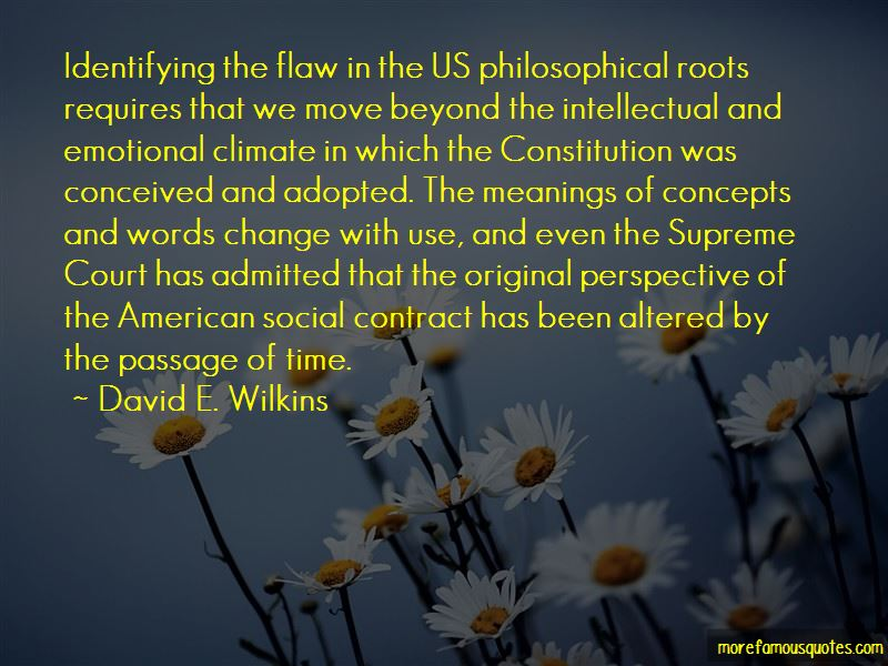 David E. Wilkins Quotes Pictures 2