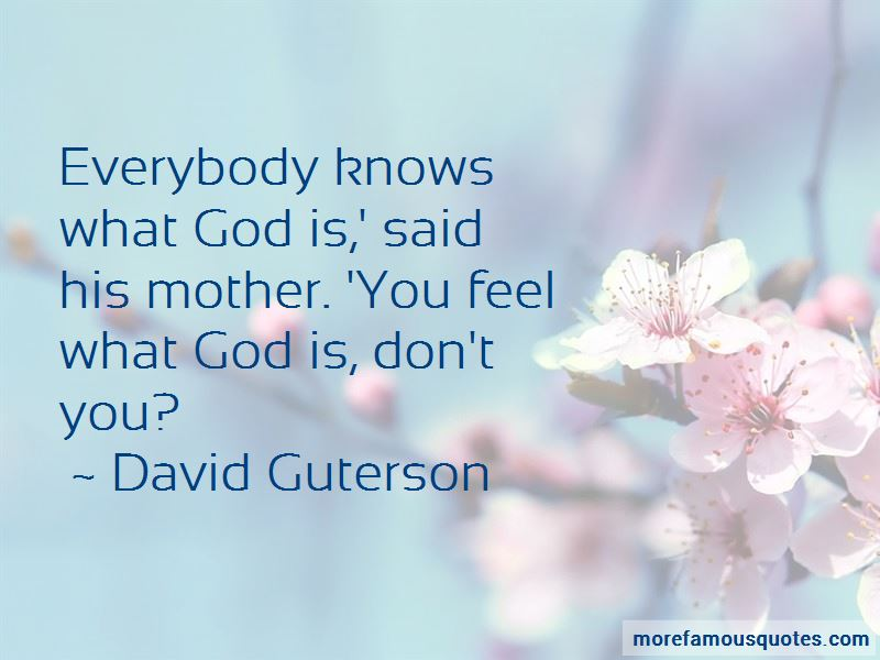 David Guterson Quotes Pictures 3