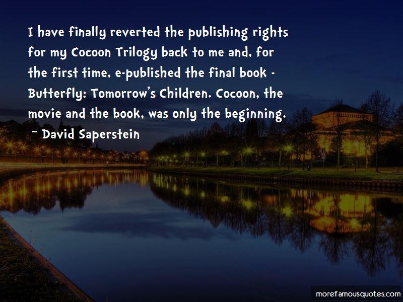 David Saperstein Quotes Pictures 2