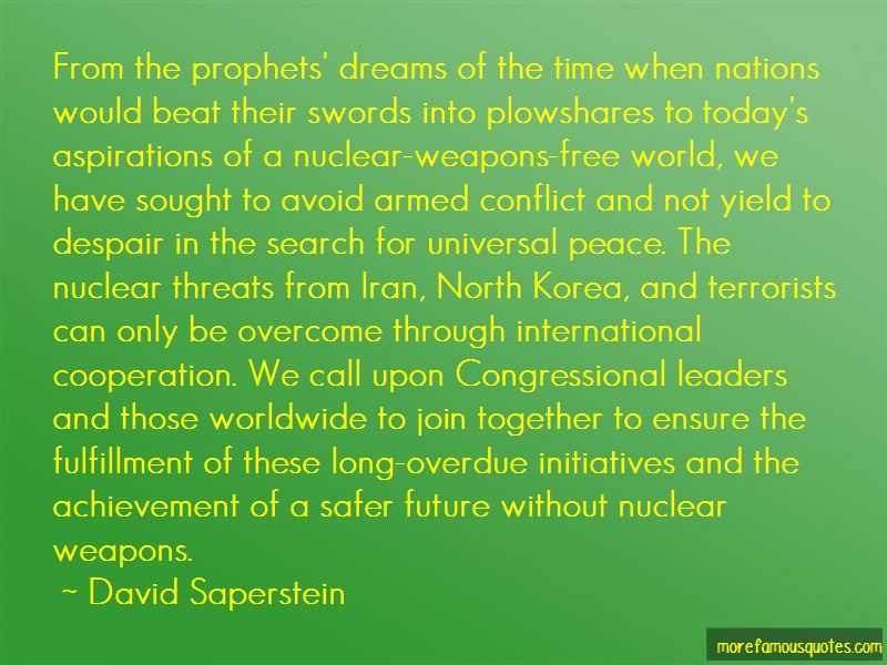 David Saperstein Quotes Pictures 3
