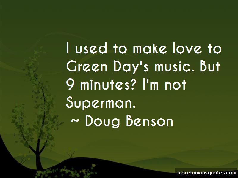 Doug Benson Quotes