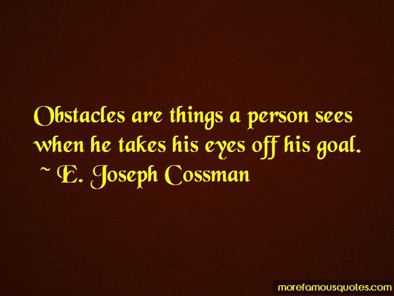 E. Joseph Cossman Quotes Pictures 2