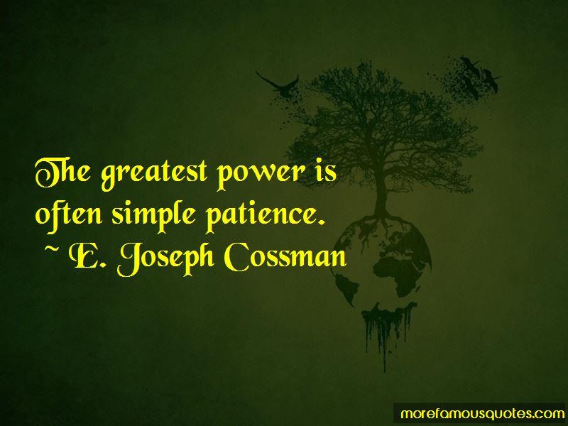 E. Joseph Cossman Quotes Pictures 4
