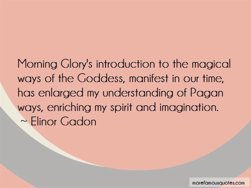Elinor Gadon Quotes Pictures 3